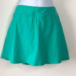 Lands End Swim Skirt Size 16 Swim Suit